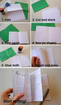 DIY Memorization Book - 15 Clever Back To school DIY Projects