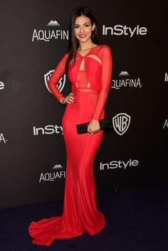 Victoria Justice. The Afterparties Deliver Another Dose of Golden Globes Glamour. #afterparties #goldenglobes #celebs