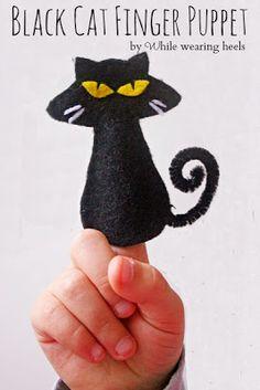 DIY:Halloween Finger Puppets