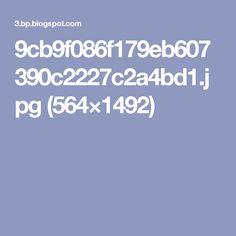 9cb9f086f179eb607390c2227c2a4bd1.jpg (564×1492)