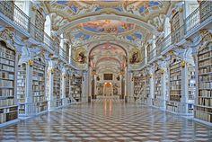 Bibliotecas extraordinarias en el mundo -Abadía benedictina de Admont, en Austria