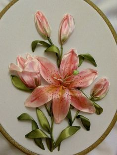 Wonderful Ribbon Embroidery Flowers by Hand Ideas. Enchanting Ribbon Embroidery Flowers by Hand Ideas. Embroidery Designs, Ribbon Embroidery Tutorial, Silk Ribbon Embroidery, Embroidery Patterns, Hand Embroidery, Embroidery Supplies, Embroidery Stitches, Machine Embroidery, Embroidered Silk