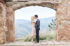 Castle Engagement // Knapp Castle Ruins Santa Barbara