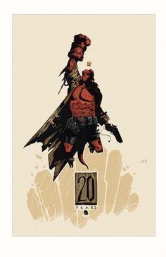20 Years of Hellboy -John Mueller
