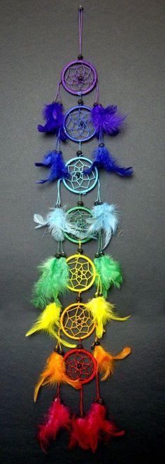 I need this chakra dream catcher Los Dreamcatchers, Beautiful Dream Catchers, Black Dream Catcher, Craft Projects, Projects To Try, Diy And Crafts, Arts And Crafts, Ideias Diy, Diy Décoration