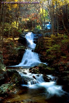 Crabtree Falls, George Washington National Forest, Virginia