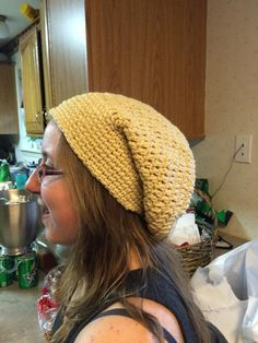 Hat by Gayle from 100% Gulf Coast yarn from Wool of Louisiana