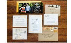 新郎新婦の雰囲気が伝わる招待状セットのデザイン案  | Weddingcard.jp