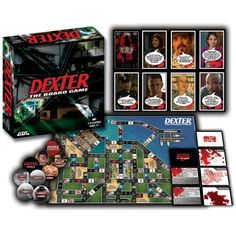 Dexter Board Game - As DEXTER, travel through the streets of Miami trying to hunt down a suspect that has slipped through the cracks of the justice system and make them your next victim. -@- http://geekarmory.com/dexter-board-game/