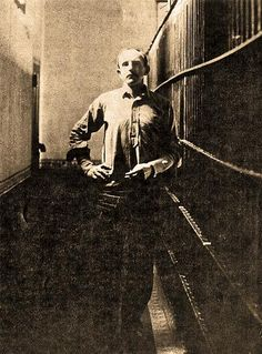 Tom Horn, in jail in Cheyenne, Wyoming, before his 1903 execution for the murder of 14-year-old Willie Nickell.
