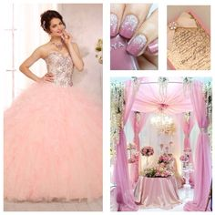 Quinceanera Theme | Quinceanera Ideas | Quinceanera Dress Pink |