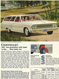 1964 Chevrolet Chevelle 300 2 Door Station Wagon