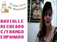 RAVIOLLE RECHEADO COM FRANGO EMPANADO =CANAL  LUCYANNA  MELL