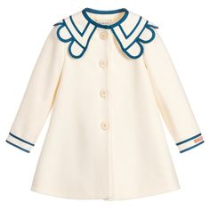 Vintage Kids Fashion, Vintage Kids Clothes, Kids Coats Girls, Coats For Women, Luxury Kids Clothes, Childrens Coats, Dresses Kids Girl, Girls Dress Coat, Designer Baby Clothes