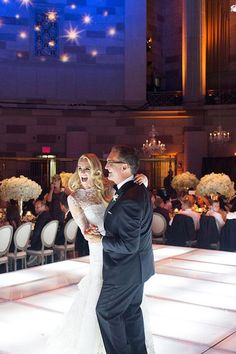 "A father-daughter dance to a slower version of Billy Idol's ""White Wedding"" 