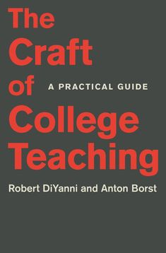 The Craft of College Teaching | Princeton University Press