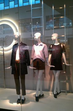 """ZARA, Mega Bangna Shopping Mall, Thailand, """"We are all looking for a way out"""", pinned by Ton van der Veer"""