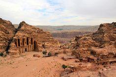 Above Petra Monastery