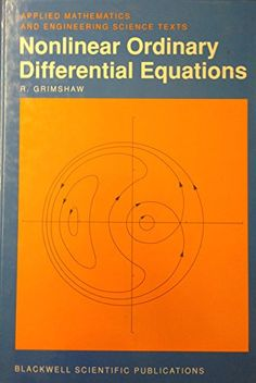 80 best differential equations images on pinterest in 2018 nonlinear ordinary differential equations applied mathematics and engineering science texts fandeluxe Image collections