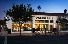Waypoint Public in North Park features a 30-tap system focused on West Coast craft brews, over 300 different bottle beers and a kids play area!