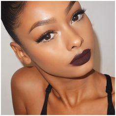 "935b5308684 Jayde Pierce on Instagram: ""#eyelure @vegas_nay lashes in grand glamor.  @colourpopcosmetics creature lip liner on the lips with current lip liner  by ..."