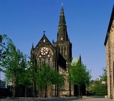 Glasgow Cathedral - the only intact medieval cathedral of the Reformation on the Scottish mainland