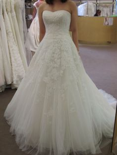 Pronovias Alcanar-- my dresss!!!!! Bought and paid for! :-)
