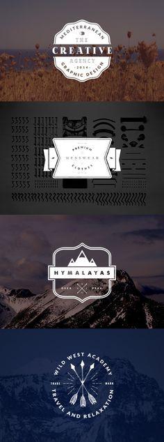 4-vintage-logo-badges
