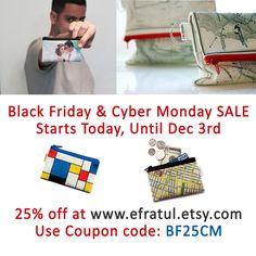#sale at my #etsy #shop #BlackFriday #CyberMonday #coupon #code @efratul