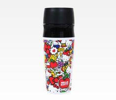 Hello Kitty Plastic Push Seal Mug: Classic Fun