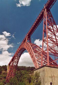 Viaducto de Garabit, Francia.