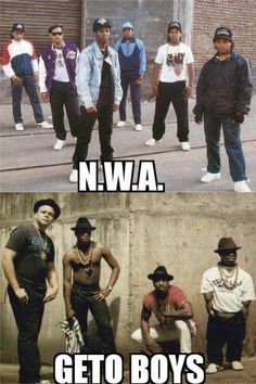 NWA and the Geto Boys