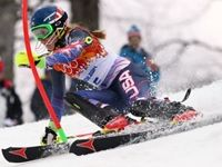"""American teenager Mikaela Shiffrin, the 18-year-old some believed would be the breakout star of the Sochi Games, made history on Friday, becoming the youngest woman ever to win gold in the slalom. Shiffrin knocked off a """"murderer's row"""" of skiing legends """"with the poise of someone 10 years older and the talent level of perhaps only herself"""" literally under the brightest of lights at night under the spotlights."""