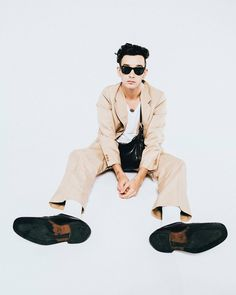 Matty Healy photographed by Rachel Kaplan for iHeartRadio