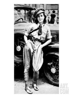 Female Chauffeur of Valencia's Communist Regiment; Spanish Civil War Giclee Print at Art.co.uk