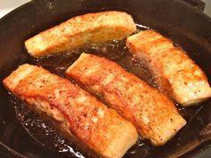 Cast Iron Salmon