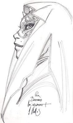 Dédicace de Adrien Floch sur la série BD Les Naufragés d'Ythaq