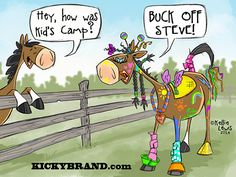 ON HORSE NATION >> Summer Horse Camp in a Nutshell!! LOL
