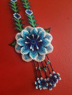 Beaded Jewelry, Beaded Necklace, Flower Necklace, Crochet Earrings, Jewelry Design, Beads, Irene, Flowers, Pattern