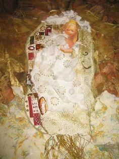 Ode To Klimt. Mixed Technique - Artist: Gustav Klimt.