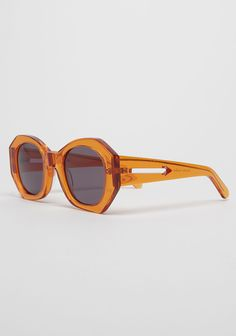 Karen Walker Patsy frames in orange