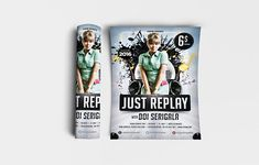 """Just Replay Flyer Template Features: • Size: 1275×1875px (4×6"""") Bleeds 0.25"""" • Fully editable + Full layered • Photoshop Version: CS5 or Higher • Resolution: 300dpi • CMYK Colors Notes: • Model not included in download file. #3d #3drender #abstract #abstraction #art #backdrop #background #banner #black #blog #blogicon #bright #ciusan #colorful #concept #creative #decor #decoration #design #digital #fabric #fashion #flower #fon #futuristic #geometric #glow #gradient #graphic #hard #illustrat Backdrop Background, Party Flyer, Creative Decor, Replay, Print Templates, Flyer Template, 3 D, Backdrops, Photoshop"""