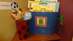 Tunstall's Teaching Tidbits: Classroom Set Up.  Cute pointers for big books!