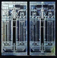 Contemporary Art Deco Window