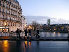 isle st. louis paris | Paris - bridge between l'Isle Saint Louis and l'Isle de la Cité ...