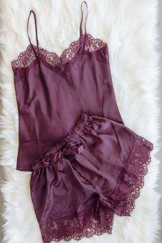Pajama Outfits, Lazy Outfits, Cute Outfits, Fashion Outfits, Womens Fashion, Cute Sleepwear, Lingerie Sleepwear, Nightwear, Cute Pajamas