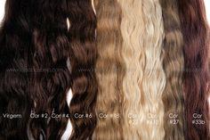 Cabelo Humano Solto Colorido 60-65 Cms  ! #lojadocabelo #hair #hairextensions #longhair #nice #sexyhair #blonde #extensõesdecabelo #cabelo #cabelos #longos