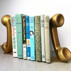 What These Old Things Online Vintage Shop Reading Books, All That Glitters, Vintage Home Decor, Telephone, Vintage Shops, Bookends, Old Things, Vintage Fashion, Cool Stuff