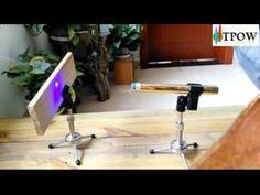 The World Most Powerful Burning Handheld Laser Pointer Burn Match Wood