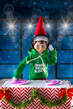 Jingle Jam Hoodie | Elf on the Shelf Ideas | Elf Clothes | Elf Clothing | Claus Couture Collection